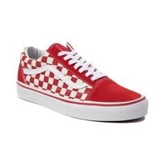 Red Checkered Vans Logo - LogoDix