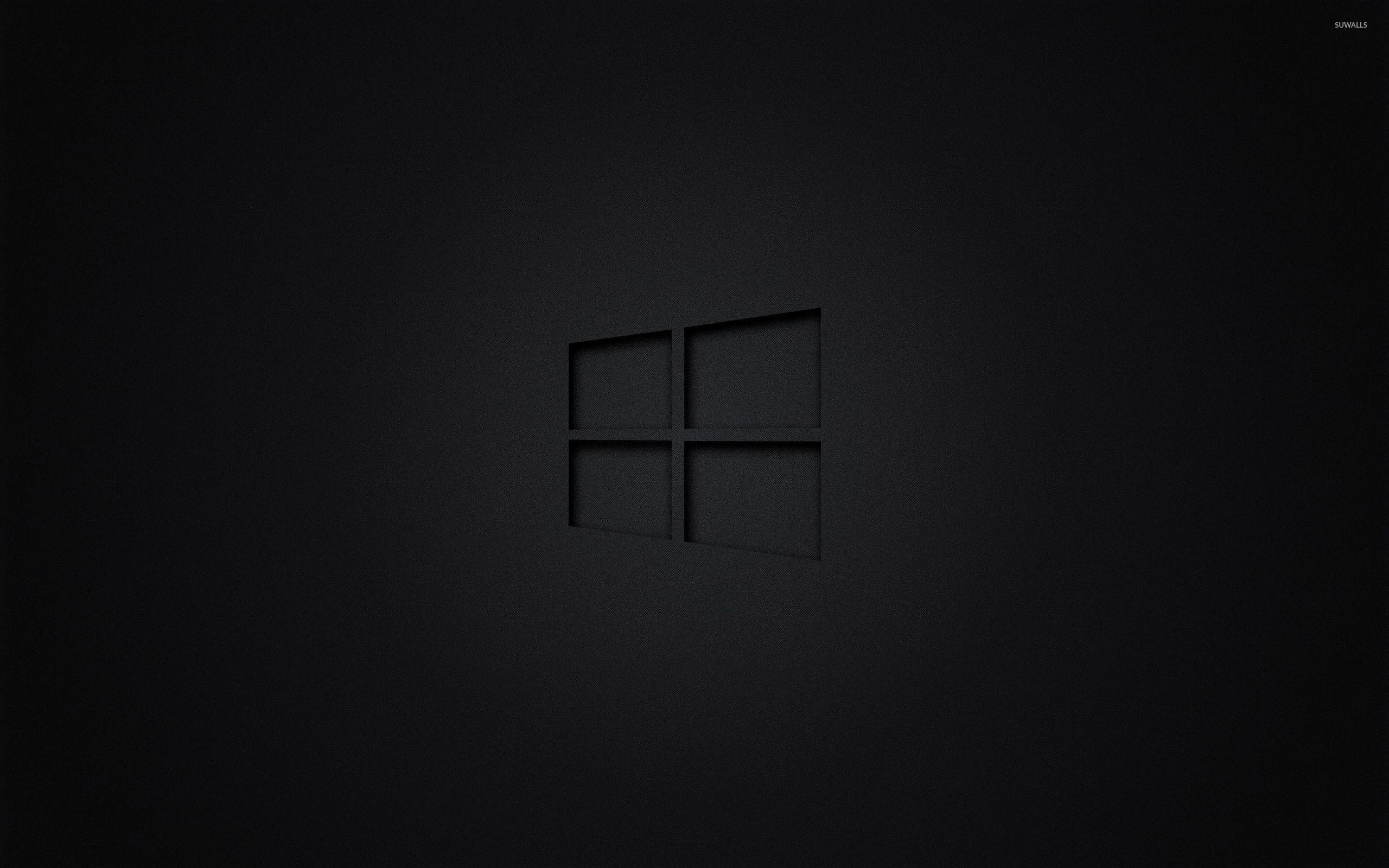 Black Windows Logo Logodix
