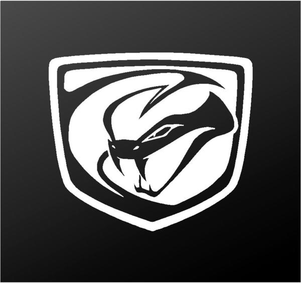 Stryker Logo - Dodge Viper Stryker Logo Vinyl Decal Car Truck Window Body Sticker ...