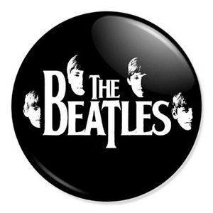 The Beatles Logo - Details about The Beatles Logo 25mm 1