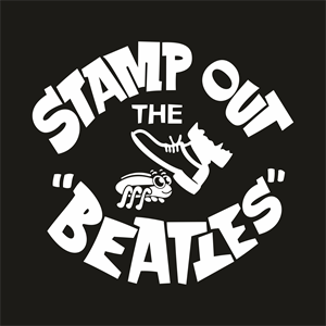 The Beatles Logo - stamp out the beatles Logo Vector (.CDR) Free Download