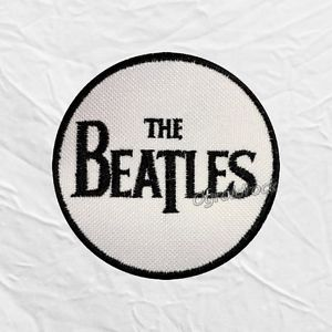 The Beatles Logo - Details about The Beatles Logo Round Embroidered Patch John Lennon Paul  McCartney George Ringo