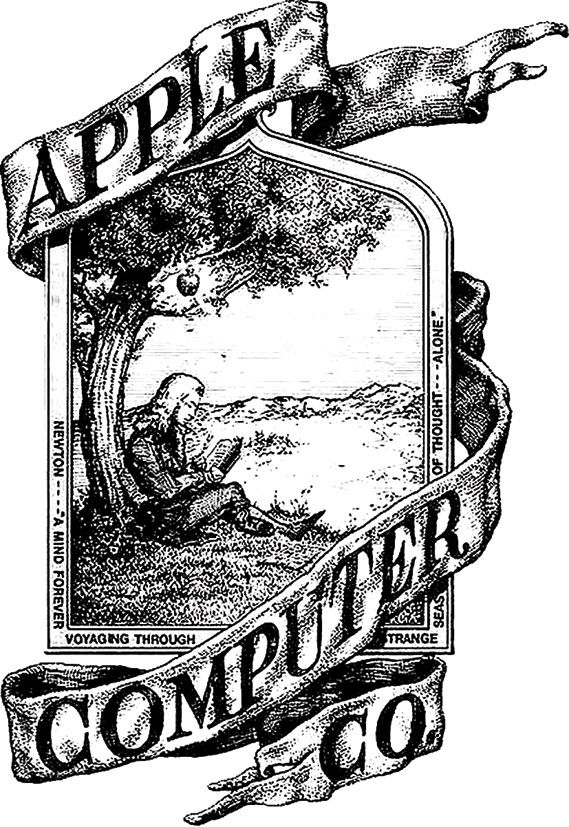 Original Apple Logo - The story behind the Apple logo - Creative Review