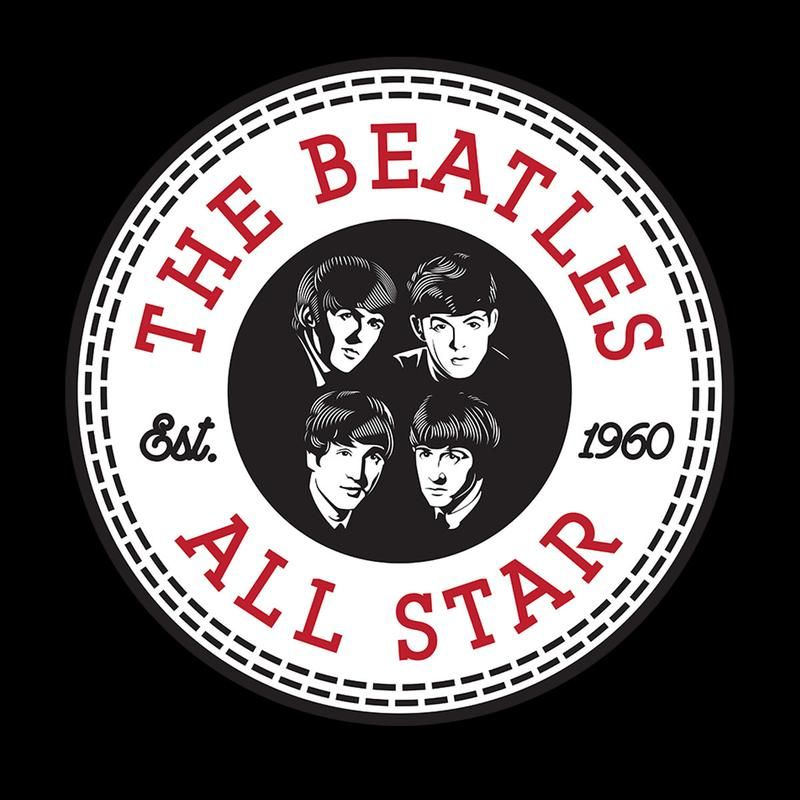 The Beatles Logo - The Beatles All Star Converse Logo Kid's T-Shirt