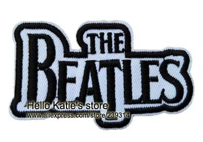 The Beatles Logo - US $9.9 |The Beatles Logo Iron On Patch ot Sticker,Famous UK Band Music  Fabric T shirt Patch, Kids Clothing Badge DIY Accosseries-in Patches from  Home ...
