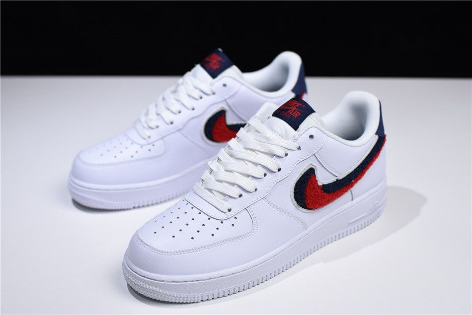 reputable site 07836 fc33d White On Red Nike Logo - Buy Nike Air Force 1 Low  07 LV8