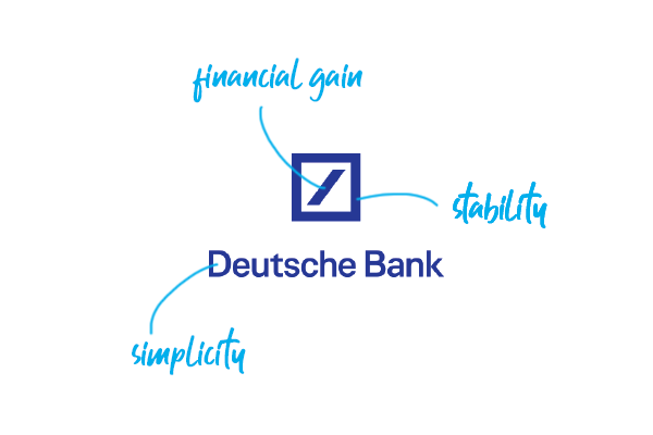 Deutsche Bank Logo - Top 10 Bank Logos Explained - Bank Branding Design – Ebaqdesign™