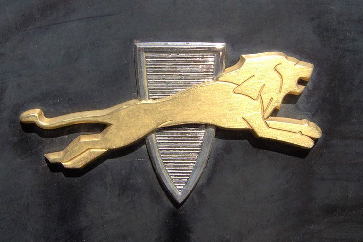 Cars with Lion Logo - Shield and Crest emblems | Cartype