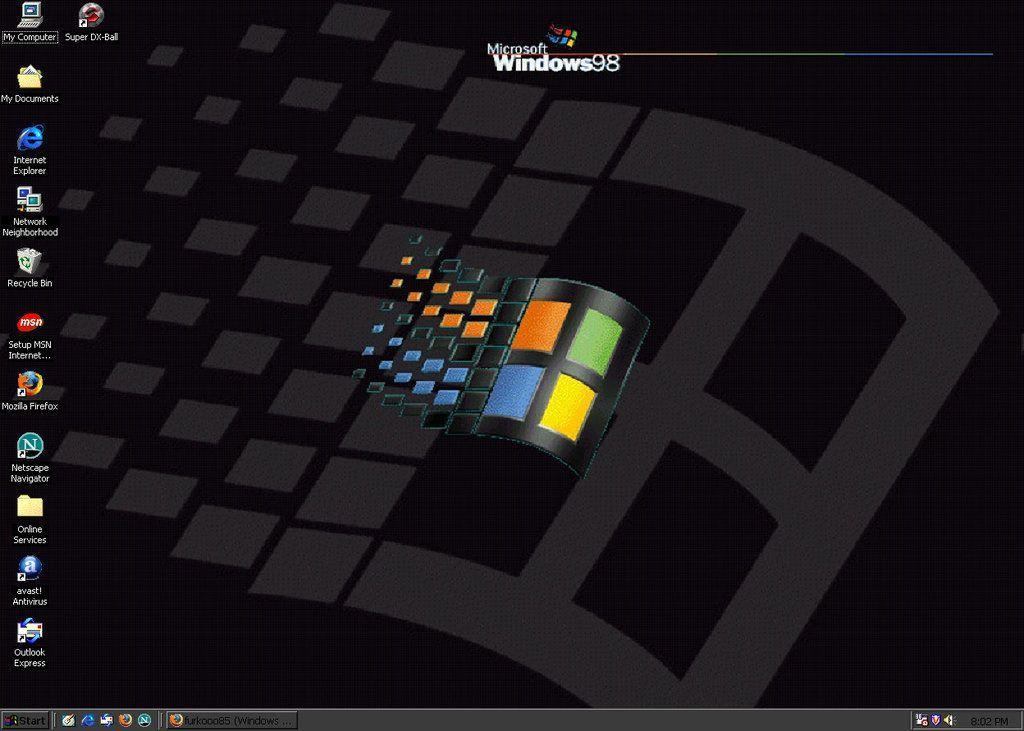 Windows 98 Plus Logo - LogoDix