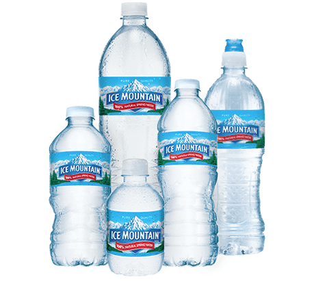 Incycle Water Bottle Mountain Logo