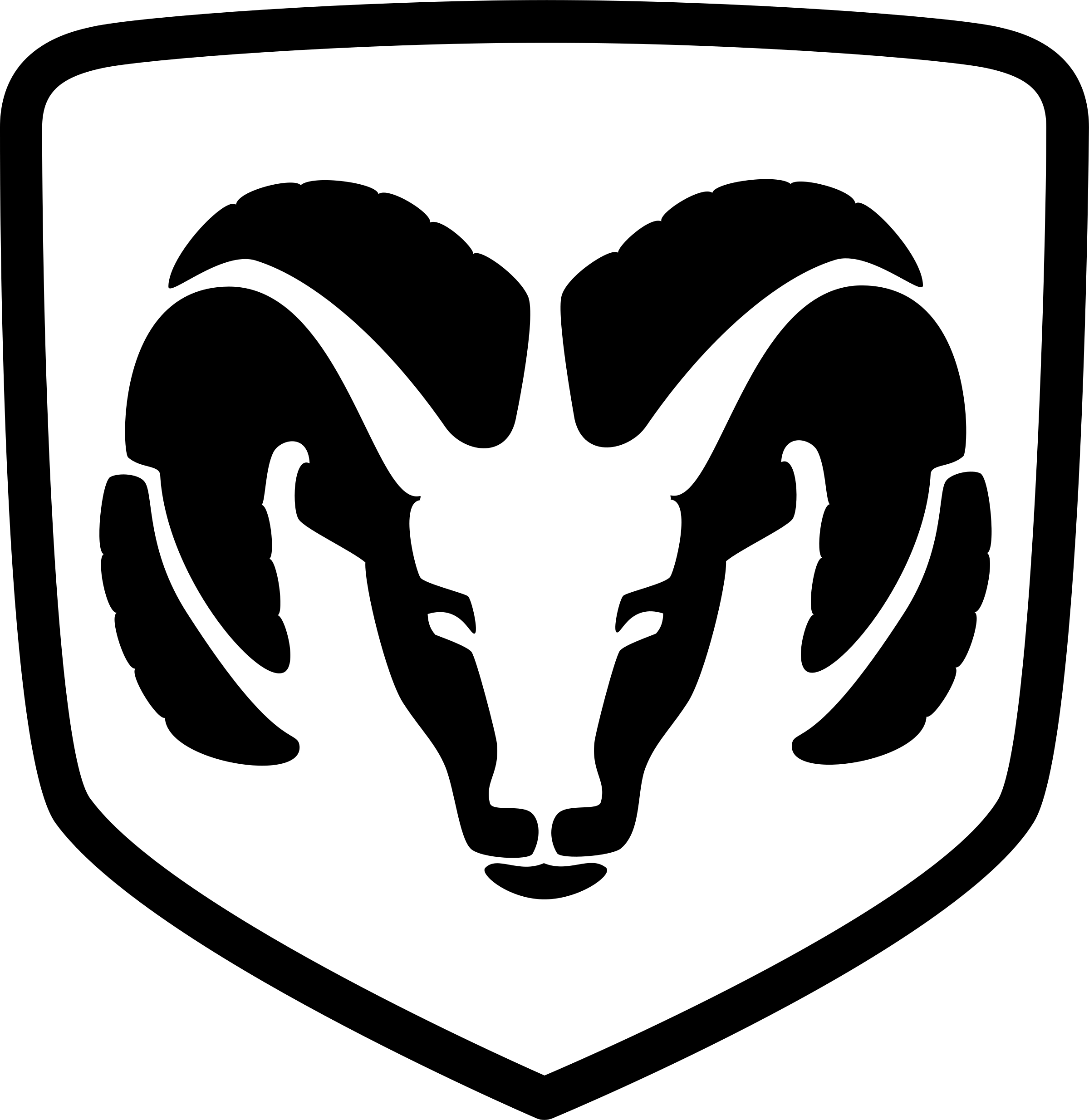 Ram Logo - DODGE RAM Logo PNG Transparent & SVG Vector - Freebie Supply
