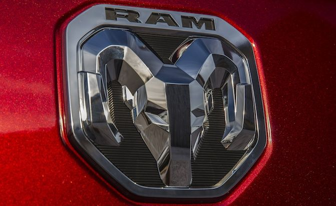 Ram Logo - Ram Quietly Introduces New Logo on its New Pickup » AutoGuide.com News