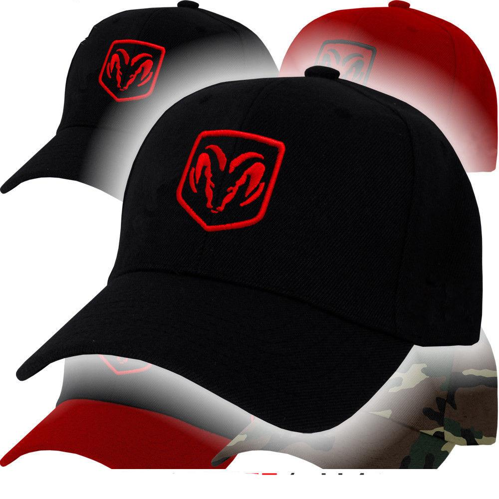 Ram Logo - Dodge Ram Logo Cap Truck Challenger Charger Hemi Racing Emblem Mopar Hat  Viper adjustable baseball cap men women