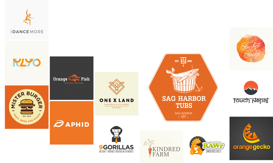 Orange Logo - 33 orange logos to inspire you - 99designs