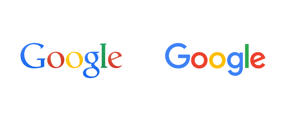 Google Logo - Brand New: New Logo for Google done In-house