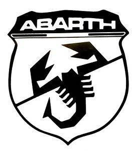 Abarth Logo - Fiat abarth logo B VINYL Decals Sticker BUY 2 GET 1 FREE ...