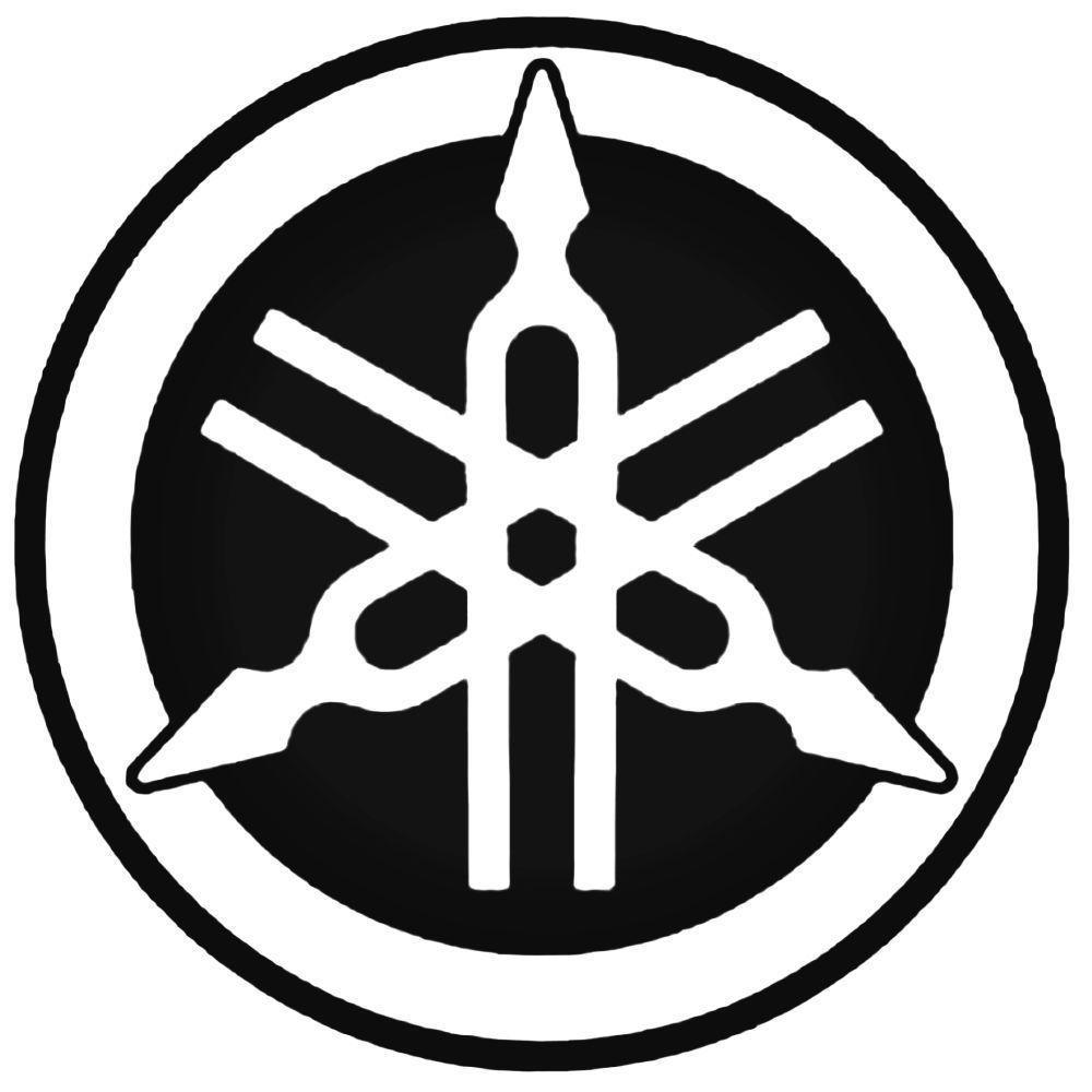 Yamaha logo yamaha logo 1 decal sticker