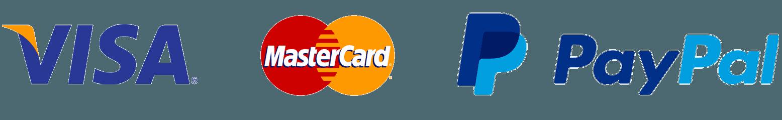 PayPal Visa MasterCard Logo - LogoDix
