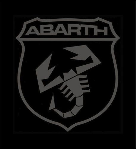 Abarth Logo - Abarth Logo Black | automotive | Autos, Coches, Motocicletas