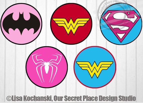 Girl Superhero Logo - LogoDix