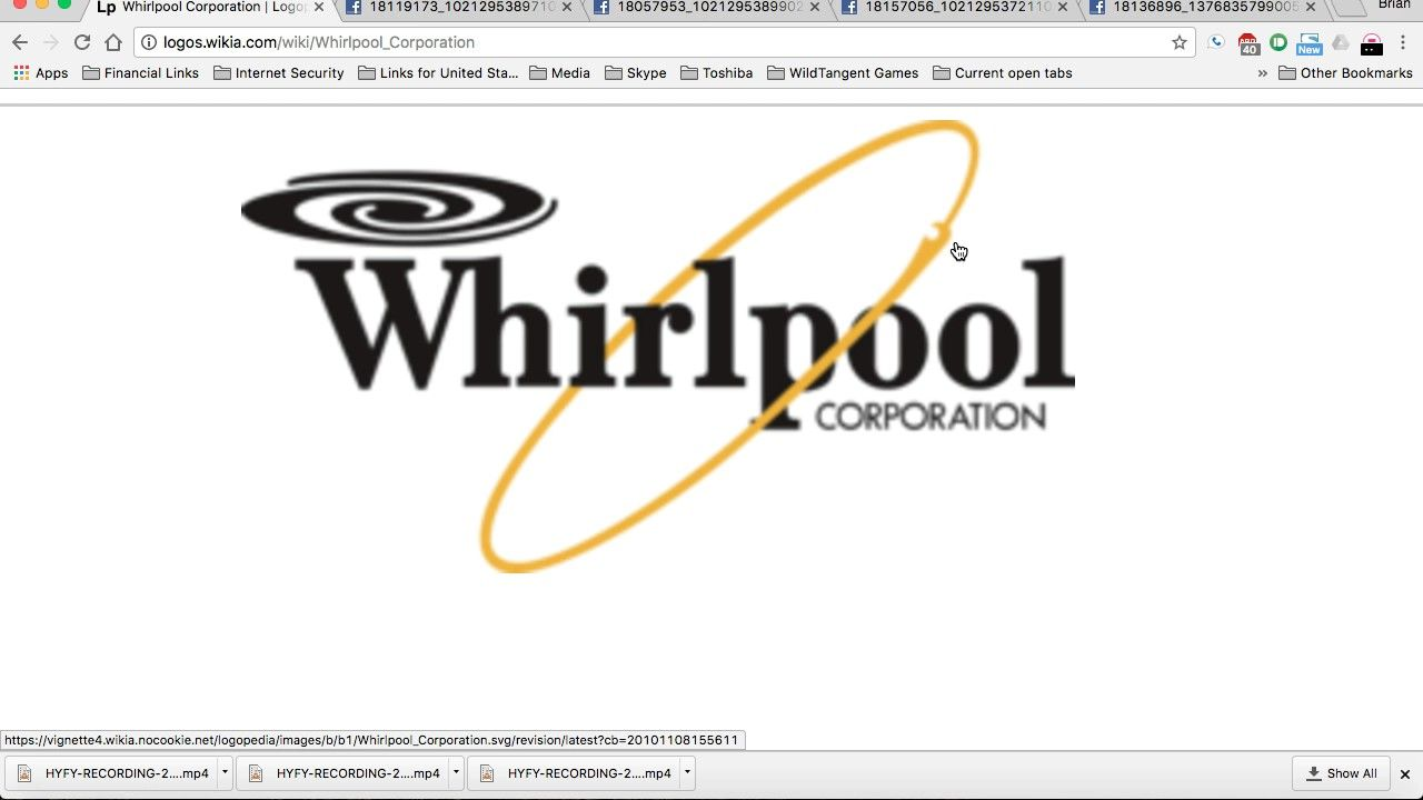Whirlpool Logo - NEW HUGE Mandela Effect - Whirlpool logo now has the EYE OF HORUS ...