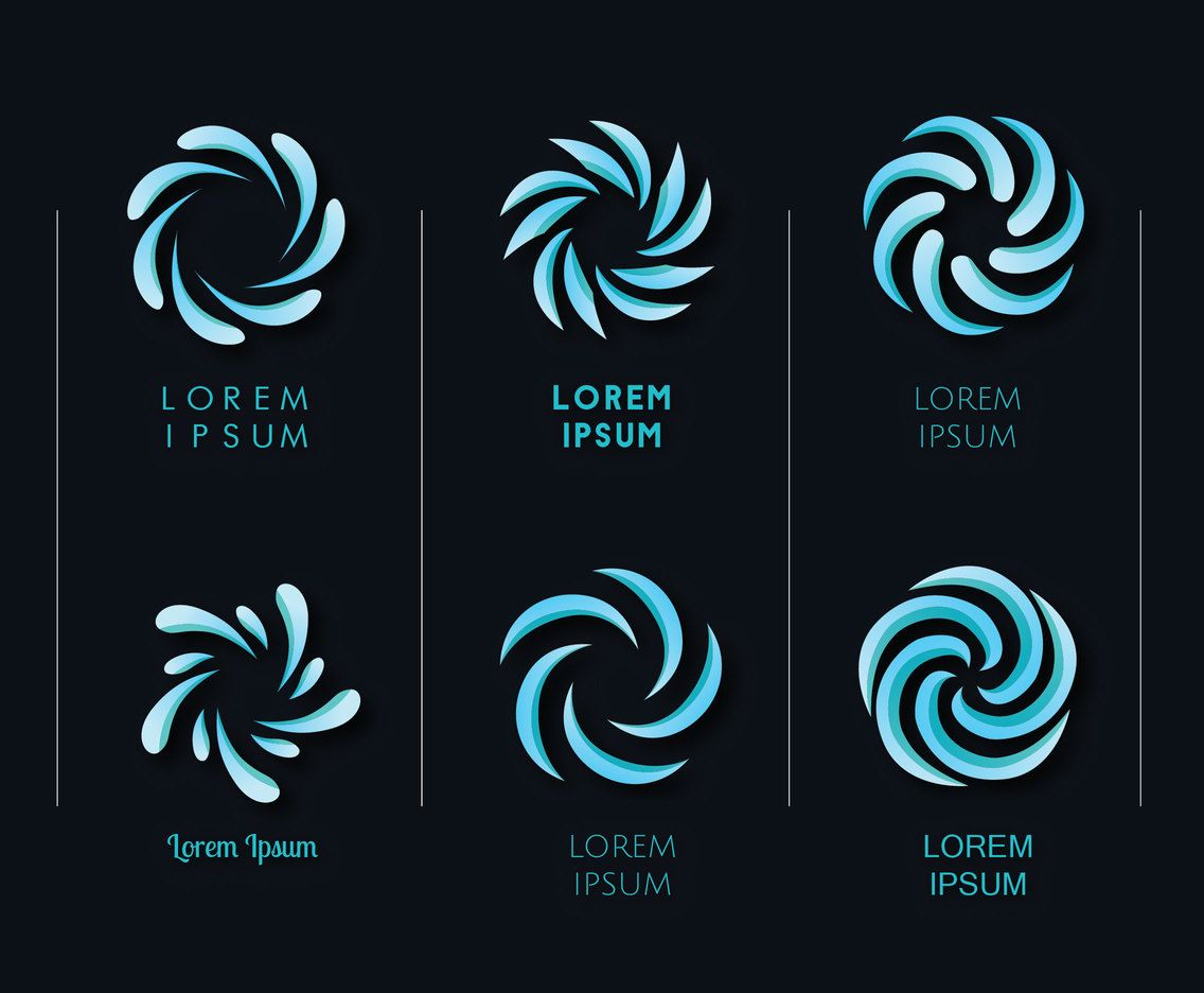 Whirlpool Logo - Whirlpool Logo Pack Vector Art & Graphics | freevector.com