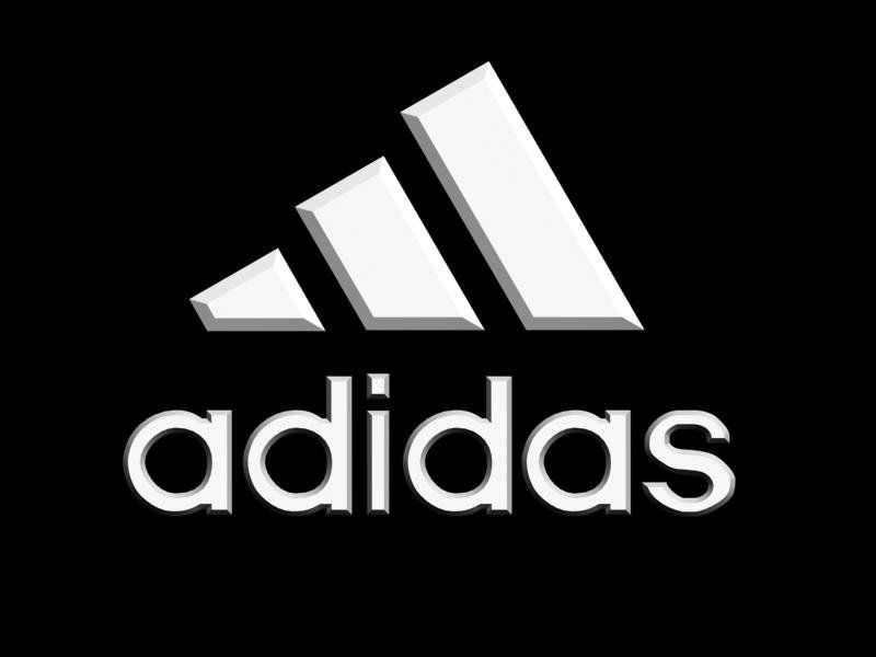 Adidas Logo - Adidas logo 3D Model in Other 3DExport