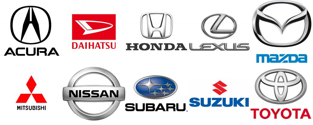 Japanese Car Manufacturers Logo - LogoDix