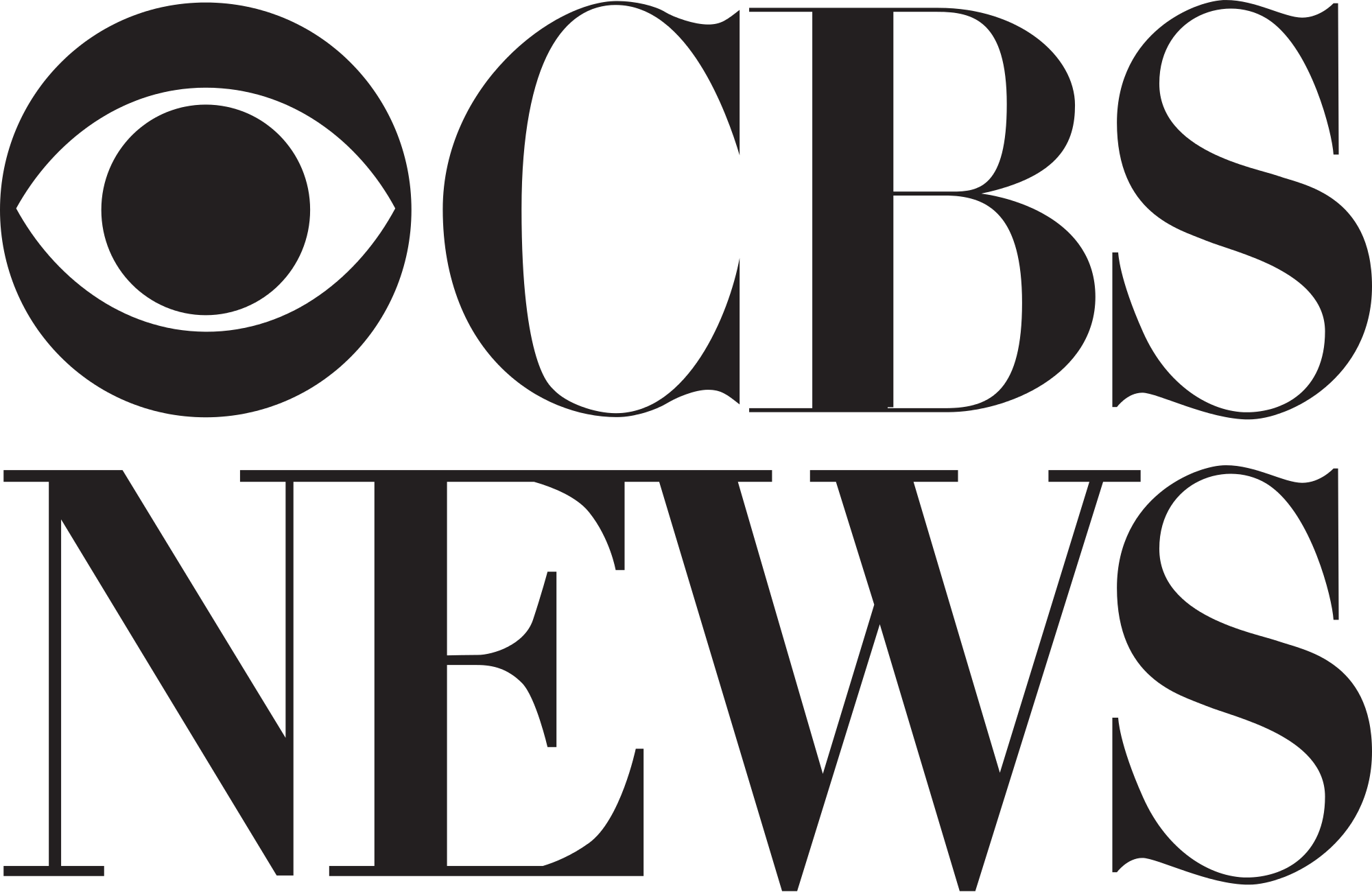 CBS Logo - File:CBS News.svg - Wikimedia Commons