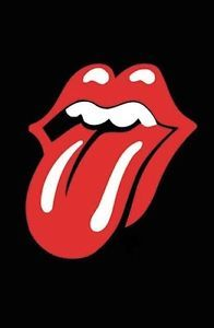 Rolling Stones Tongue Logo - ROLLING STONES - TONGUE LOGO - GIANT POSTER 55x40 - MUSIC BAND G222 ...