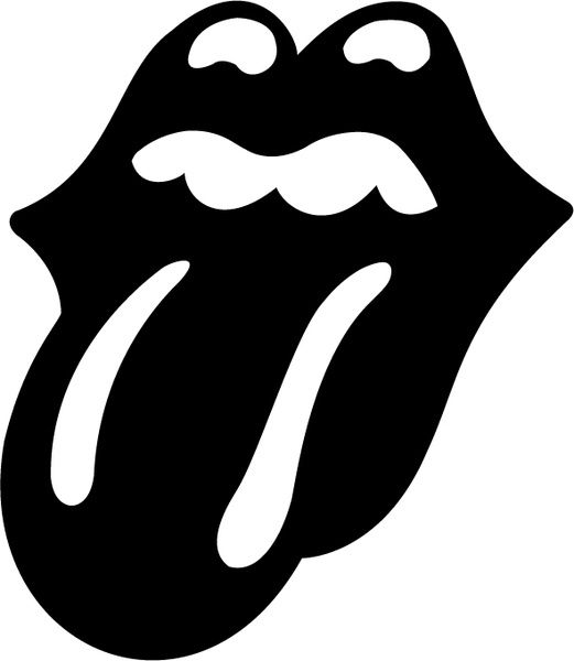 Rolling Stones Tongue Logo - The rolling stones tongue Free vector in Encapsulated PostScript eps ...