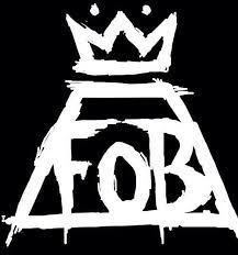 FOB Fall Out Boy Logo - THE FALL OUT BOY LOGO: A LOOK BEHIND THE LOGO THAT 'SAVED ROCK AND ...
