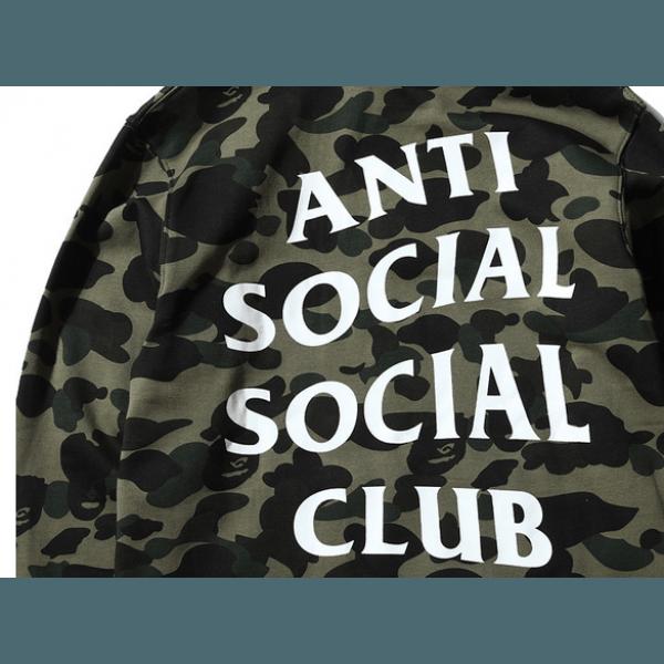 ANTI SOCIAL SOCIAL CLUB Logo Print Medical Mask Colour CAMOUFLAGE