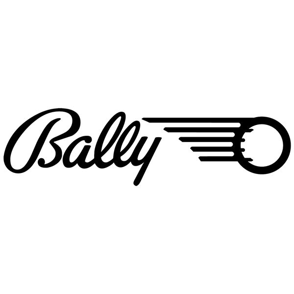 Bally Logo - Sticker Bally Logo | MuralDecal.com