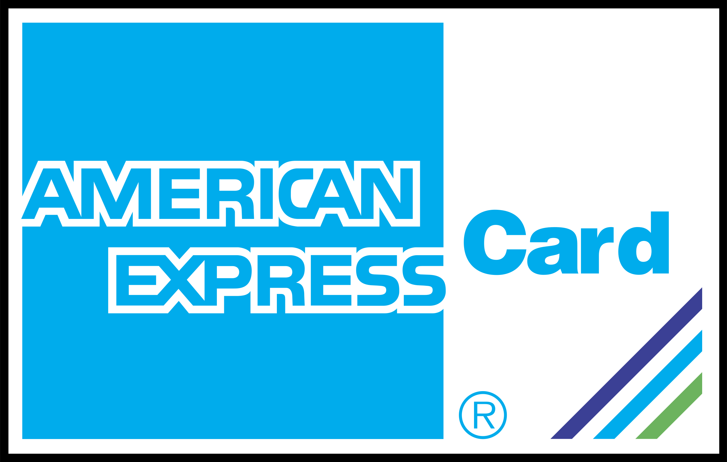American Express Logo - American Express Card Logo SVG Vector & PNG Transparent - Vector ...
