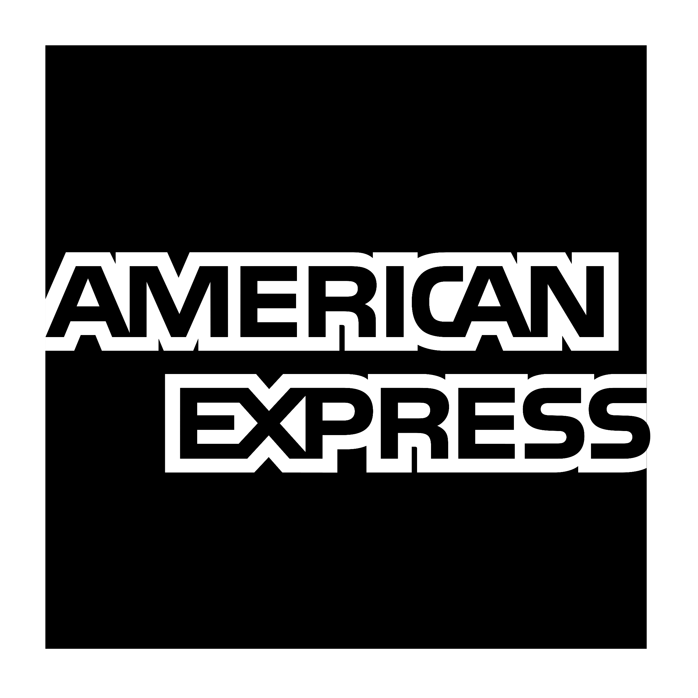 American Express Logo - american-express-logo-black-and-white - Clarence