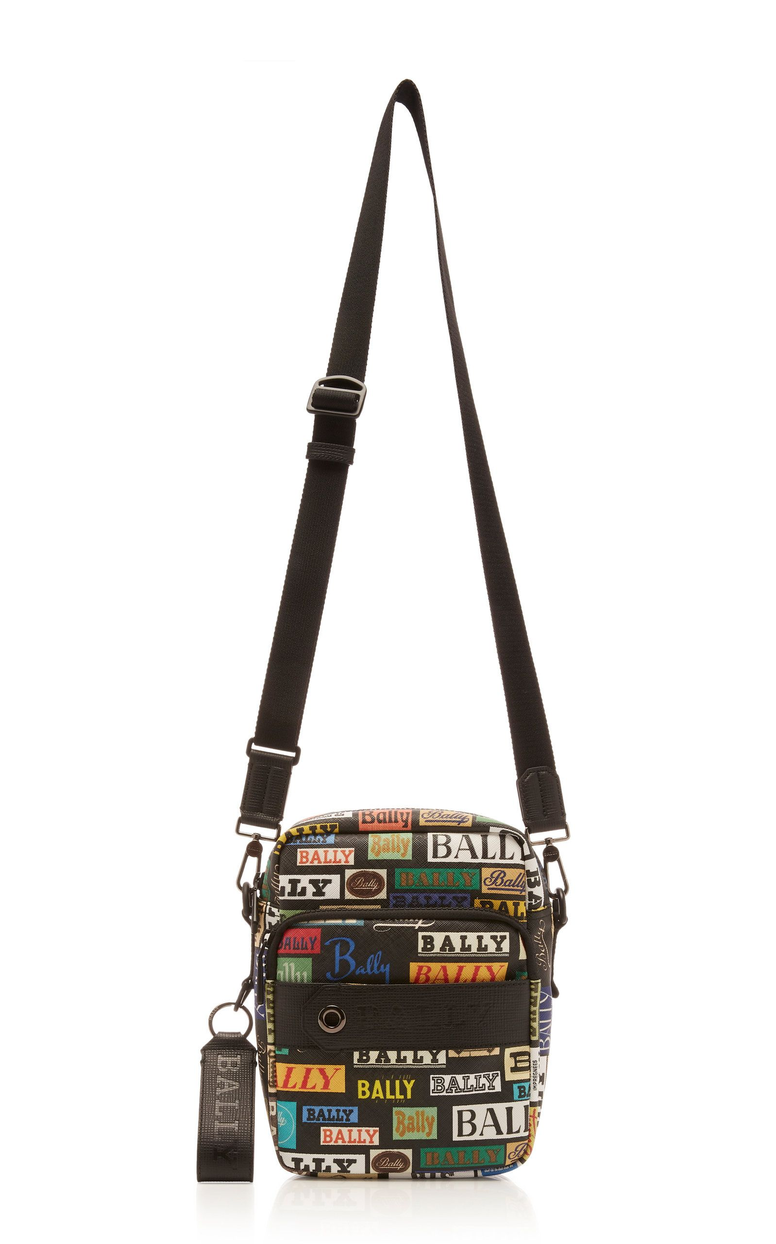 Bally Logo - Bally Multicolored Logo Crossbody Bag | ModeSens