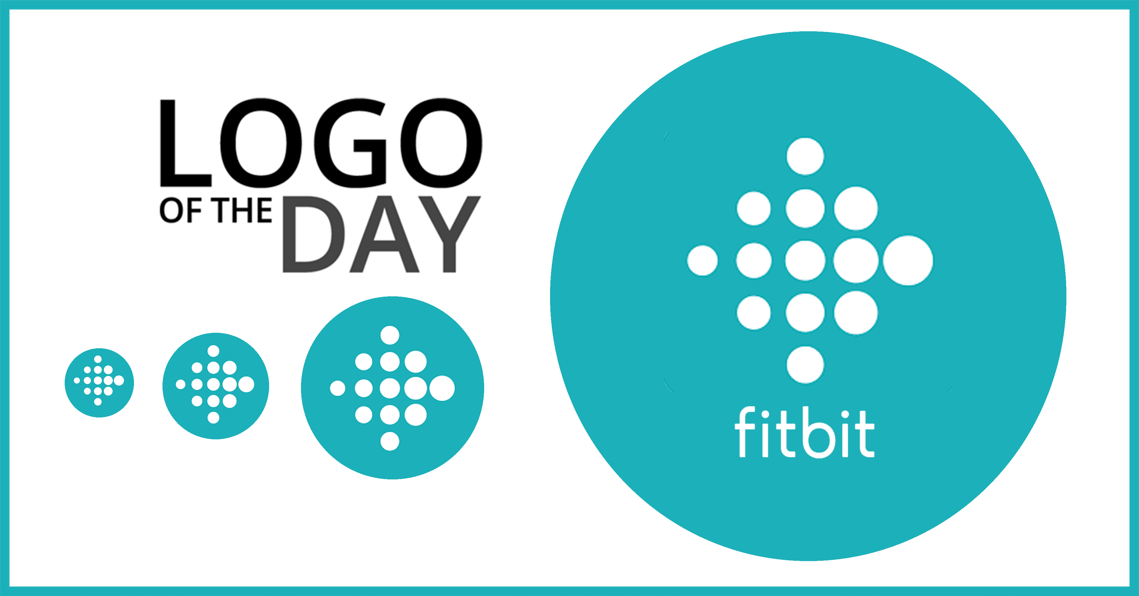 Fitbit Logo - Fitbit: Logo of the Day - June 19, 2018
