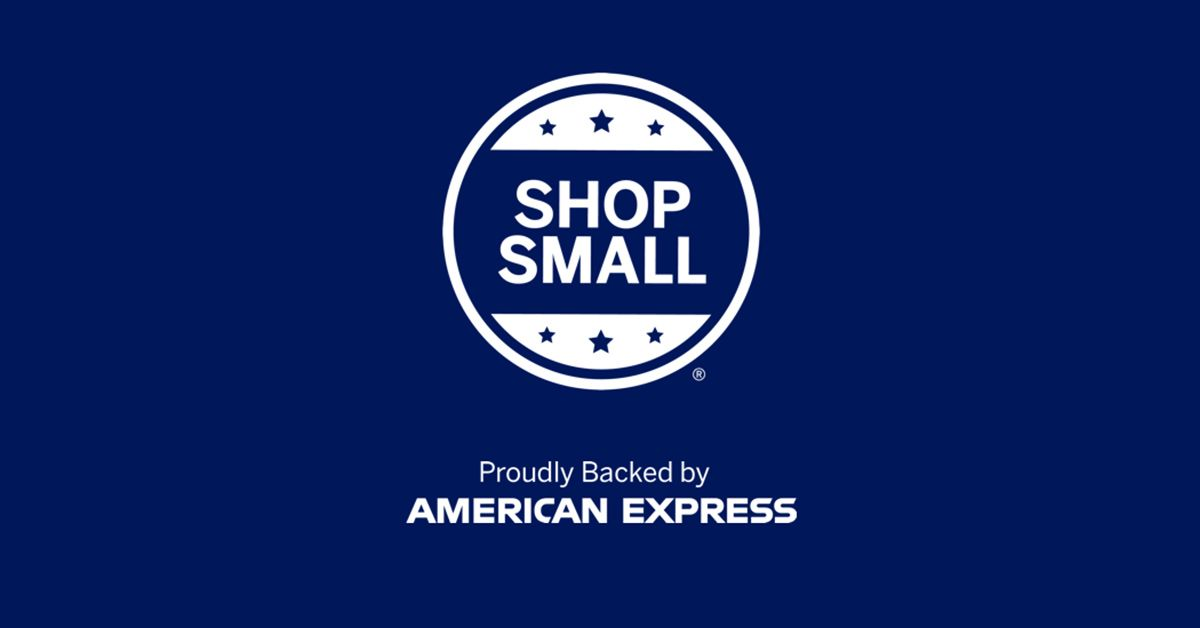 American Express Logo - Small Business Saturday Marketing Materials - Shop Small® - American ...