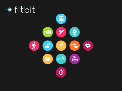 Fitbit Logo - Fitbit Logo Icons by Mark Bult | Dribbble | Dribbble