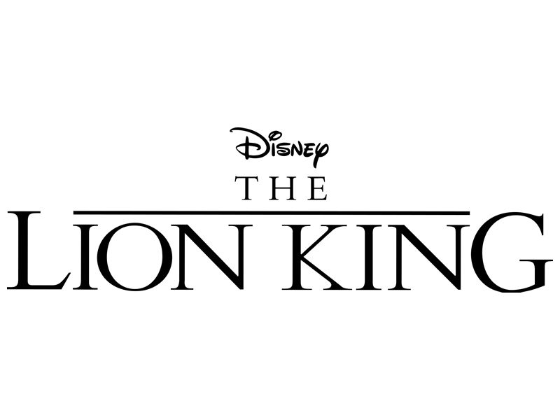 The Lion King Movie Logo Logodix