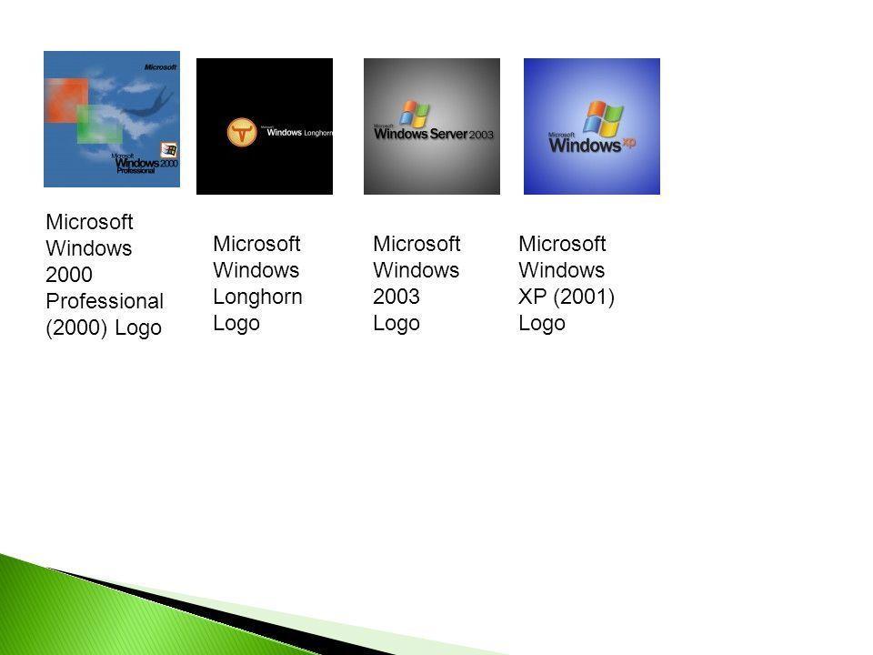 Microsoft Windows 2000 Logo - LogoDix