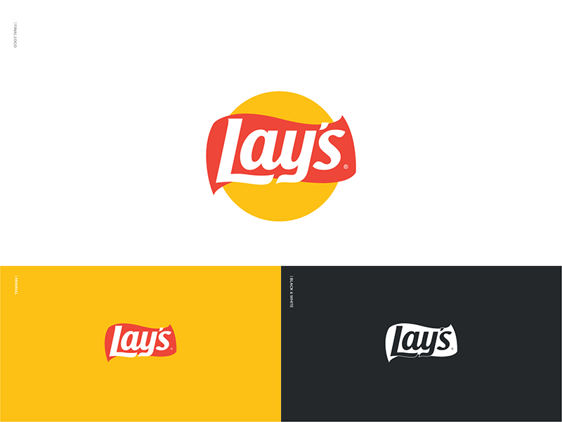 Lay's Logo - What if Lay's Became Flat by Ali Rashidy | Dribbble | Dribbble