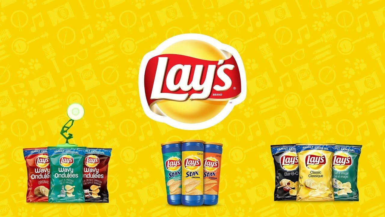 Lay's Logo - 1295-LAY'S Potato Chips Spoof Pixar Lamps Luxo Jr Logo - YouTube