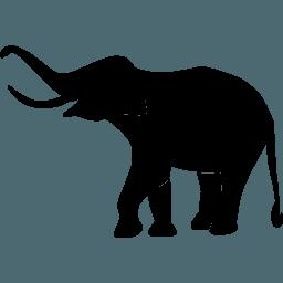Black Elephant Logo Logodix
