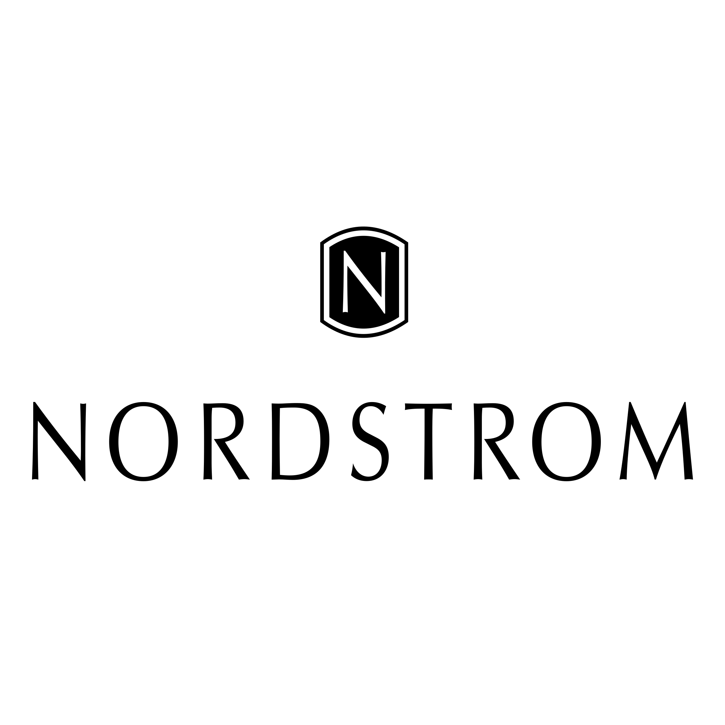 Nordstrom Logo - Nordstrom Logo PNG Transparent & SVG Vector - Freebie Supply