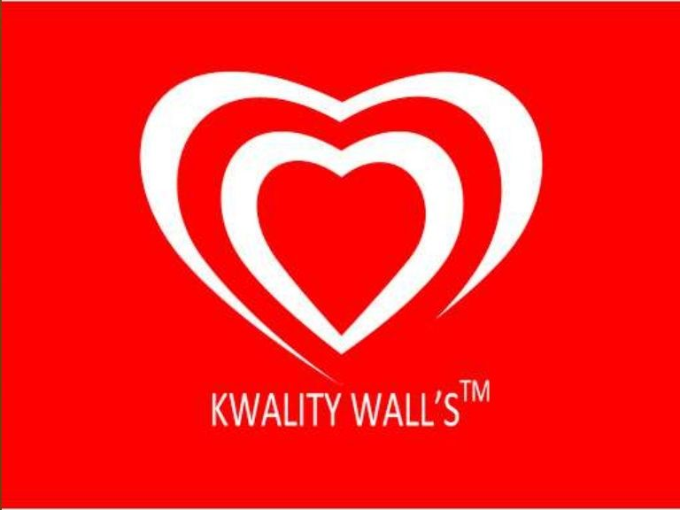 Ice Cream Heart Logo - Kwality walls Marketing
