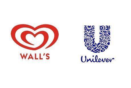 Ice Cream Heart Logo - Wall's Ice Cream (Unilever)
