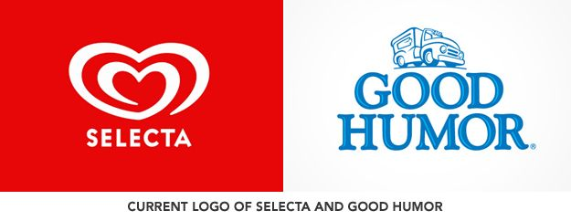Ice Cream Heart Logo - Selecta's Heartbrand logo | One Design PH - A Philippine Design Blog
