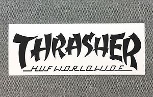 Black And White Thrasher Logo Logodix